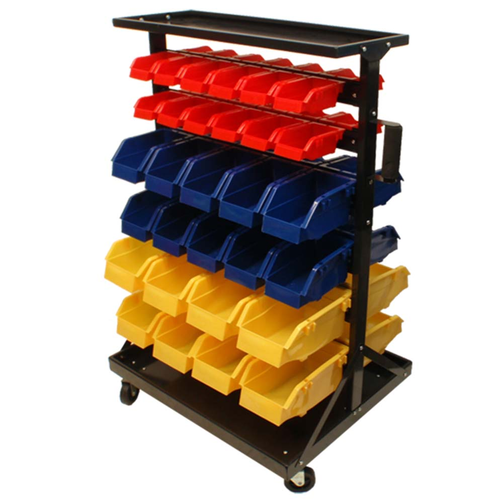 Mobile 60 Removable BINS RACK Parts Accessories Storage ...