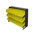 24 Removable BINS RACK Parts Accessories Storage Organizer Bench Top
