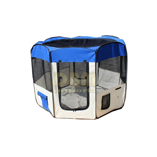 Large Pet Dog Cat Indoor Outdoor Play Pen Cage Excercise