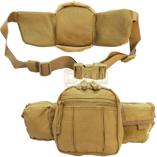 Molle Concealed Carry Fanny Pack Pistol Gun Pouch Case