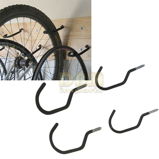 4 Pc Jumbo Bike Hooks Bike Hanger Ceiling Bike Hanger