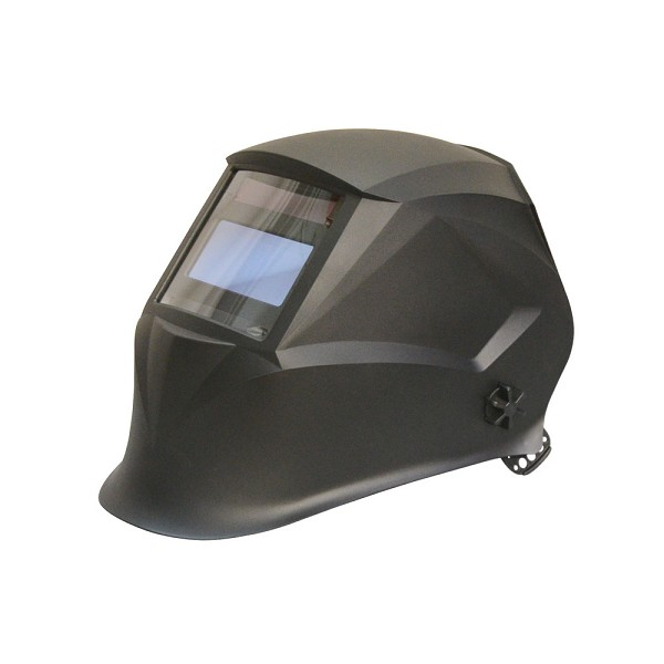Matte Black Solar Auto-Darkening Filter Welding Helmet Welder Mask Darkening 9-13 Shades Adjustable