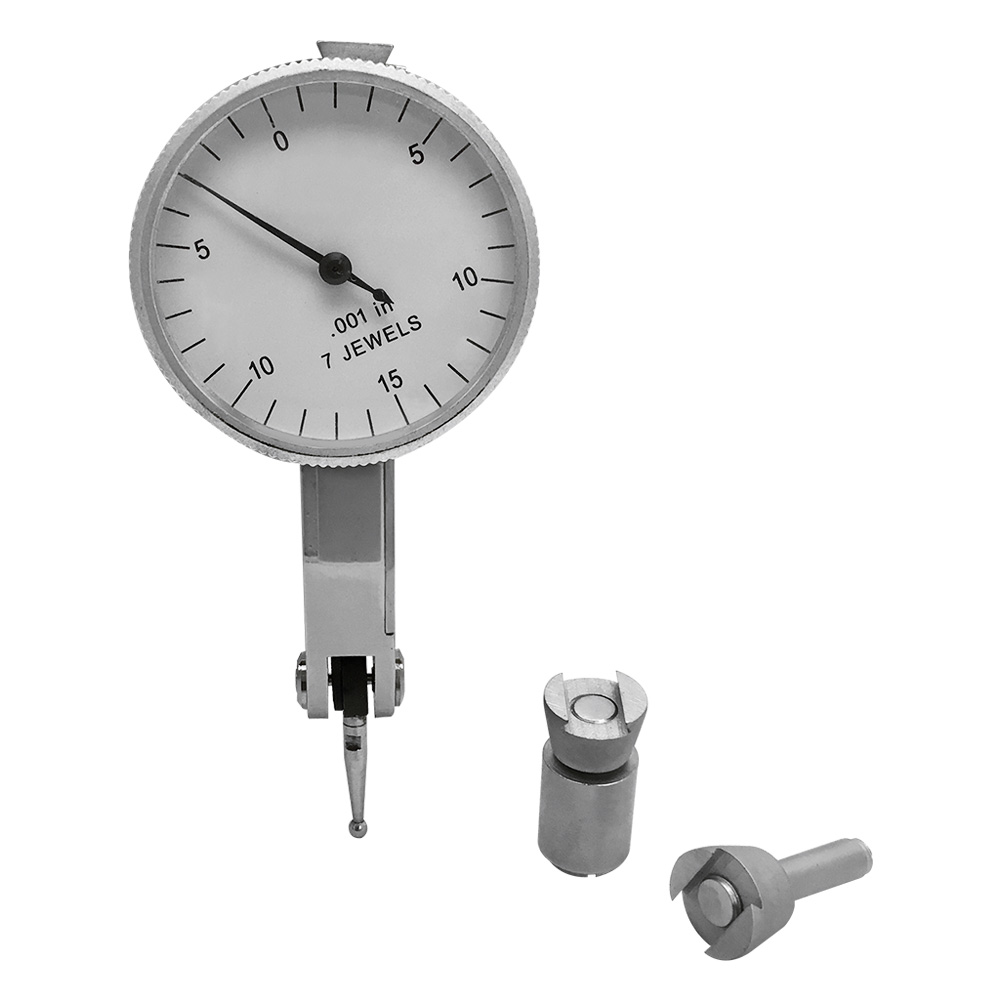 Test Dial Indicator Meter Tool 7 Jewels .001/'/' Grad 1-1//4/'/' Face Dial