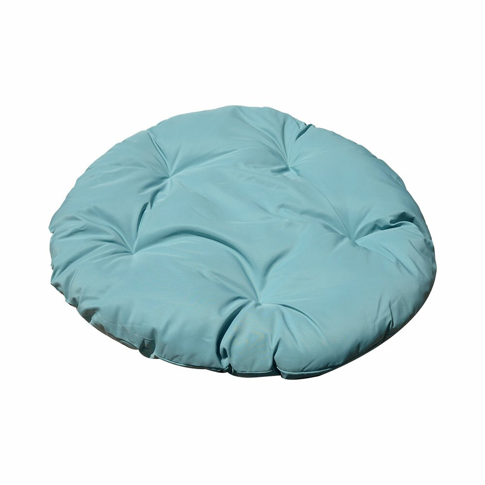 Peachy 48 X 4 Turquoise Polyester Replacement Chair Pads Chair Cushions Round Cushion Pillow Papasan Wicker Swing Chair Outdoor Indoor Ibusinesslaw Wood Chair Design Ideas Ibusinesslaworg