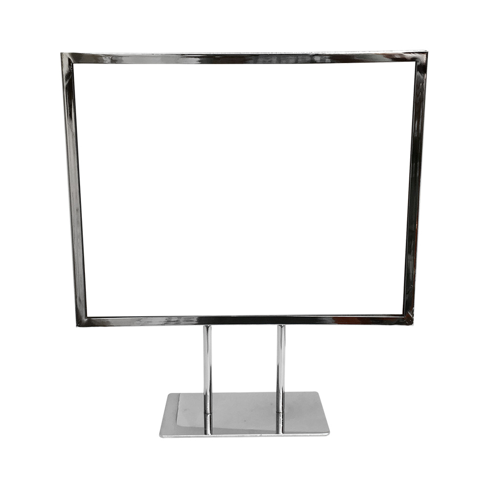 Card Frame 10 38 X 6 14 Sign Holder Stand Counter Top Display