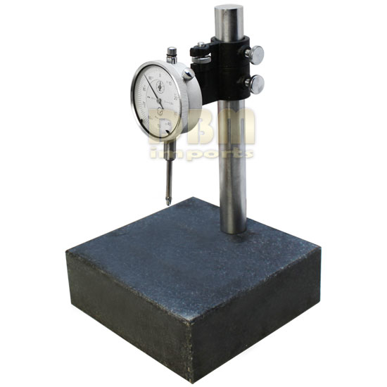 6x6x2 Granite Check Stand Surface Plate Amp Dial Indicator