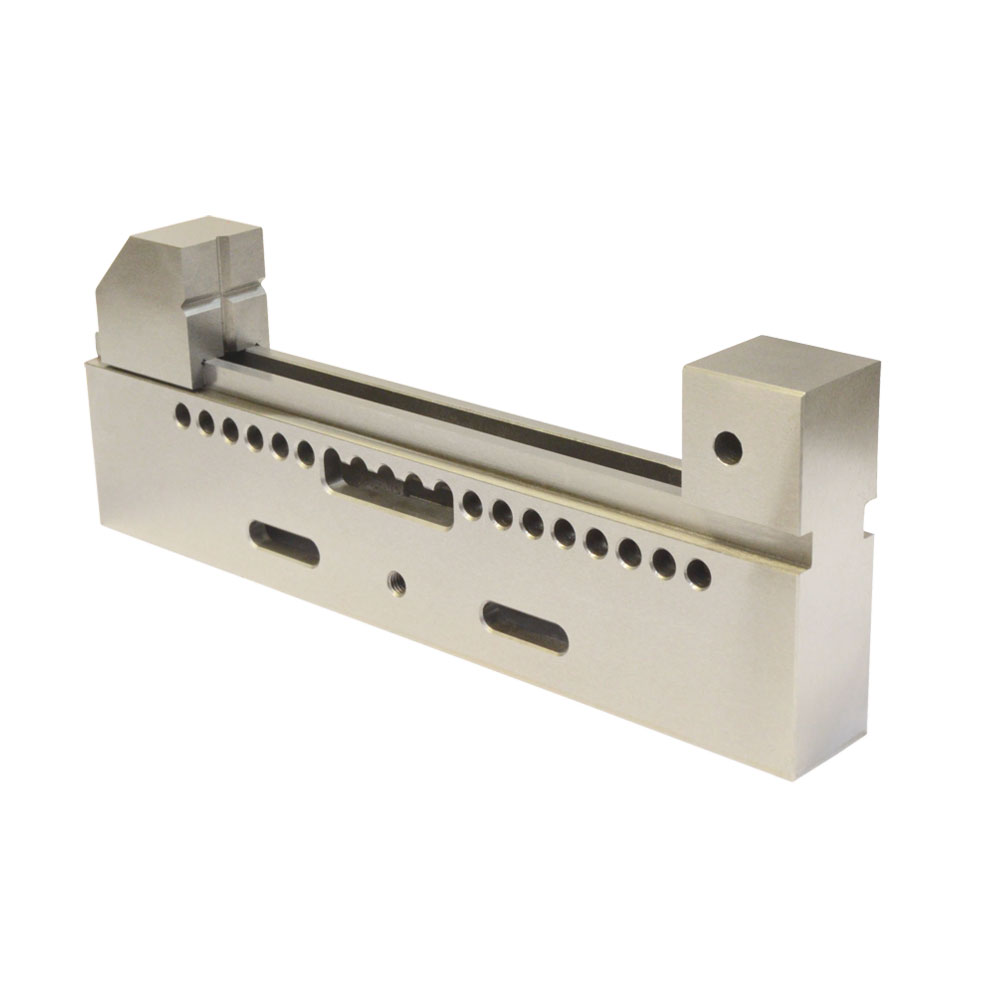 DBM IMPORTS High Precision 8 Jaw Wire Cut EDM Vise HRC 55 .0002 Toolmaker Stainless Steel Hardened Grinding Milling