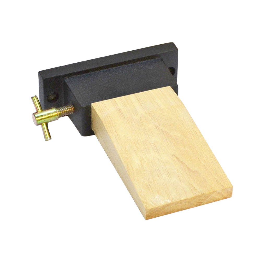 Bench Anvil Pin Vise Attachment Metal Mounting Holder Wood