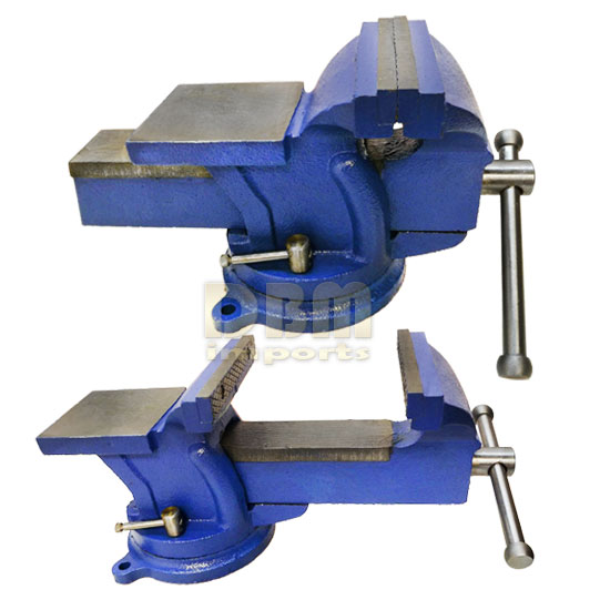 5 Quot Bench Vise With Anvil 360 Degree Swivel Locking Base