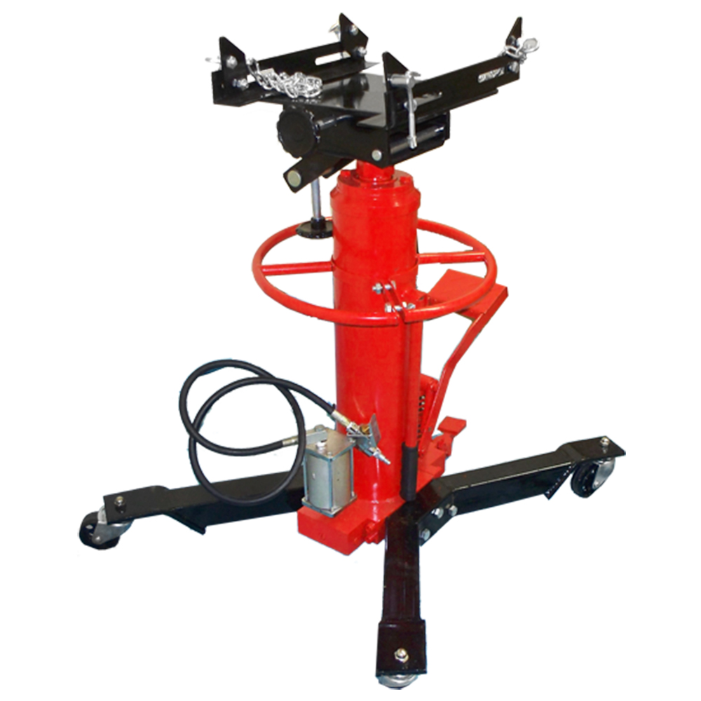 HD 1/2 Ton AIR Hydraulic Telescopic Tall Transmission Jack 34-5/8 to 63