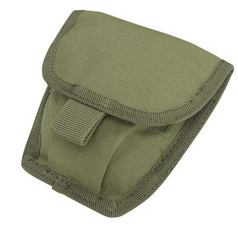 OD GREEN Molle Tactical Pals Double Handcuff Pouch