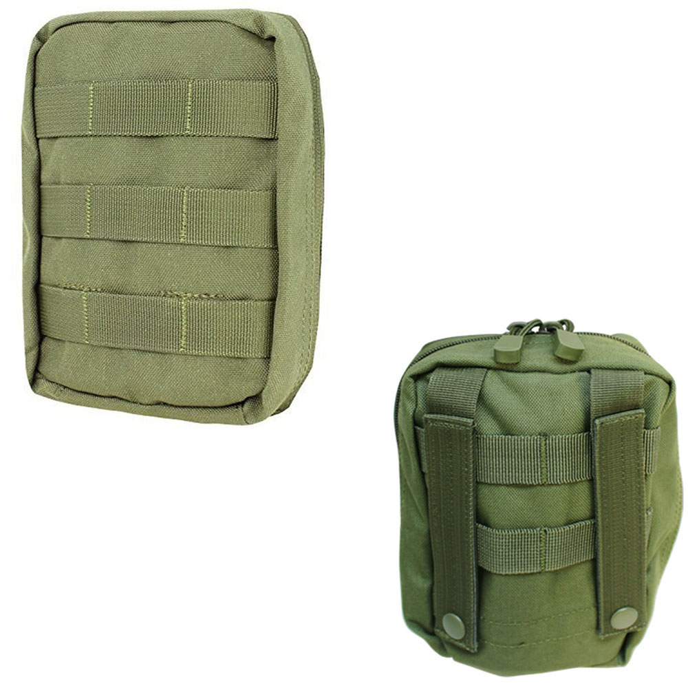 OD Green Molle Tactical EMT Medic First Aid Pouch Bag IFAK Utility Tool Carrier