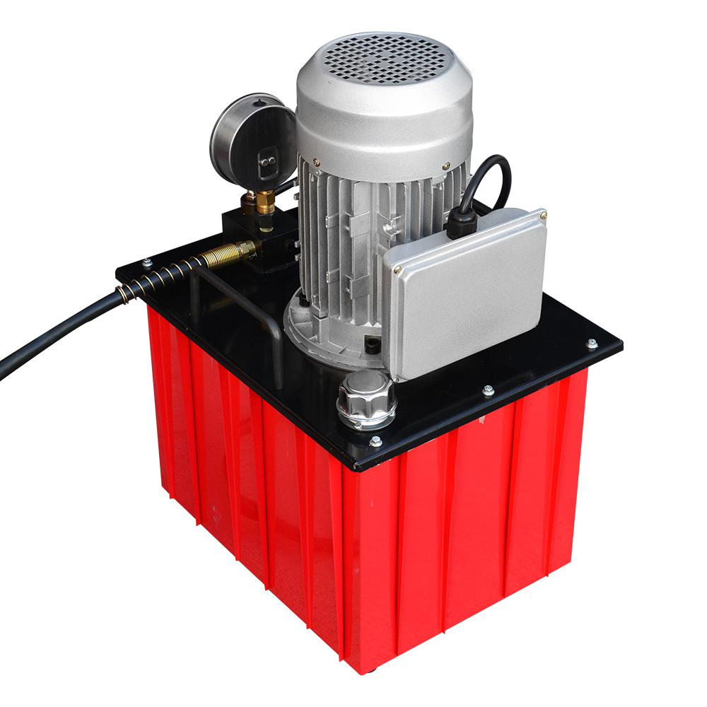 Electric Hydraulic Pump >> 10 000 Psi Electric Hydraulic Pump Single Acting Manual Hand Operated