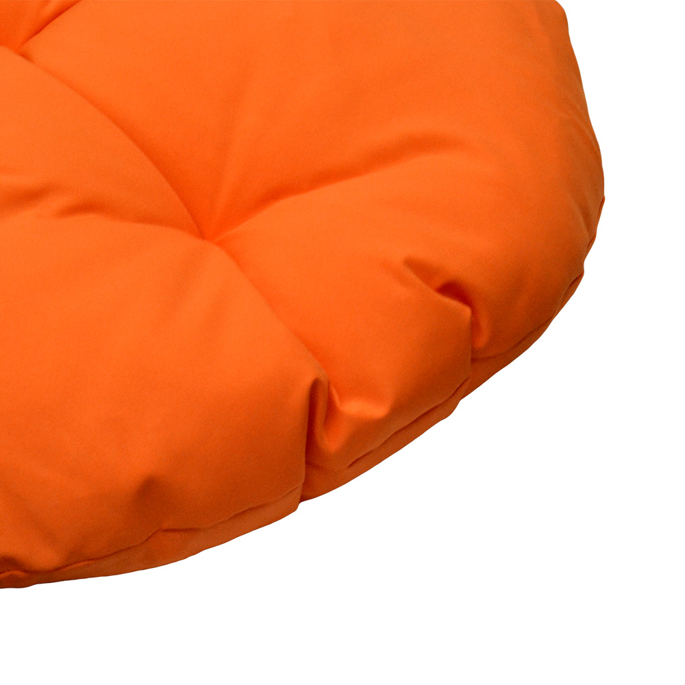 Awe Inspiring Round Indoor Outdoor 33 Orange Soft Replacement Swing Chair Cushion Pillow Papasan Pad Seat Cover For Egg Wicker Swing Chair Ibusinesslaw Wood Chair Design Ideas Ibusinesslaworg
