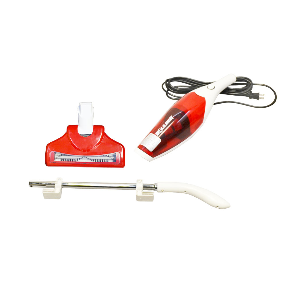2 In 1 Red 0 3l Bagless Handheld Upright Vacuum Cleaner
