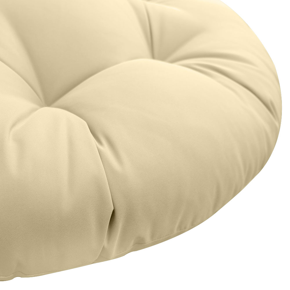 """44/""""x6/"""" Round Papasan Ottoman Cushion 10 Lbs Fiberfill Polyester Out//Indoor AD003"""