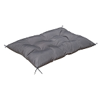 Queen Size Portable Bed Futon Mattress Sleepover Nap Pad Tatami Yoga Mat Floor Lounger In/Outdoor