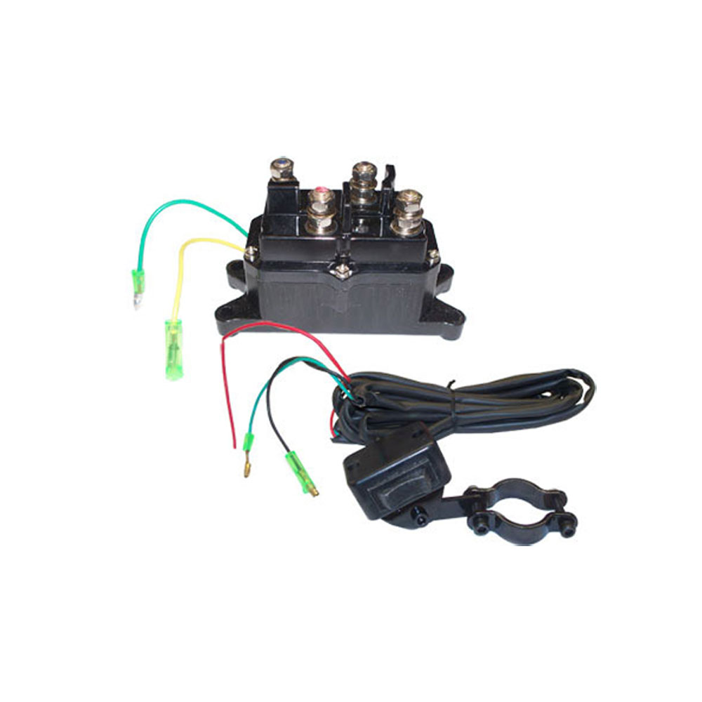 Rocker Switch  Solenoid Relay Contractor Relay Reversing Motor Atv Winch 12v