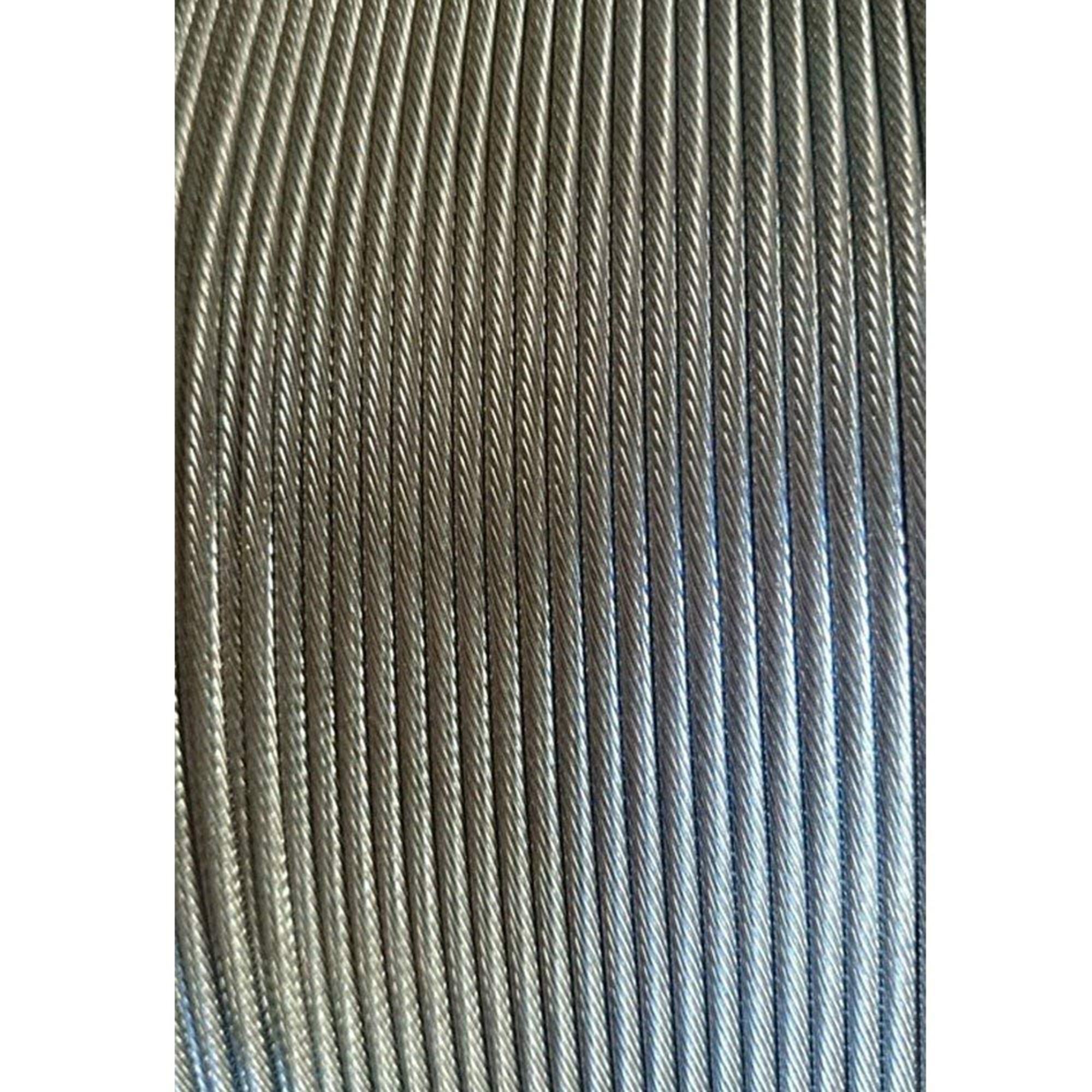 """3/16"""" 1x19 Stainless Steel Cable Railing Wire Rope Grade 316"""