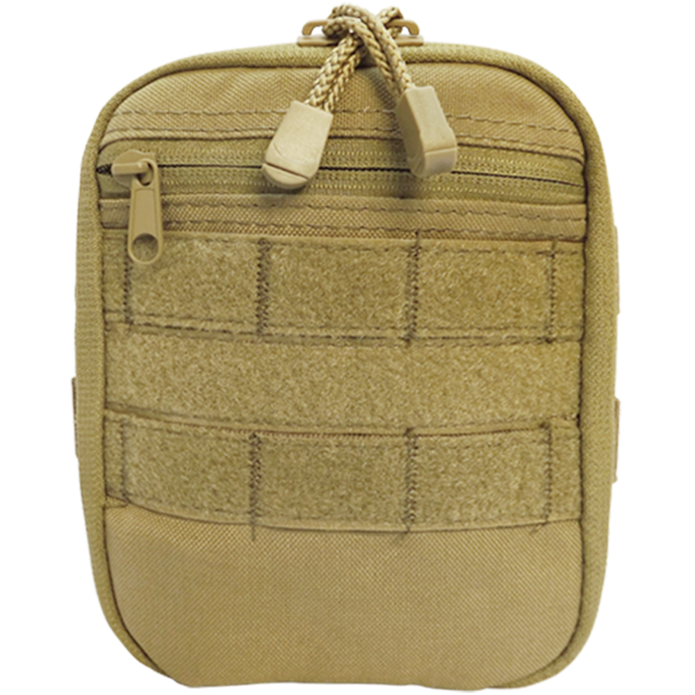 Molle Tactical Utility SIDE KICK POUCH Utility Accessory Pouch Molle Pouch-TAN