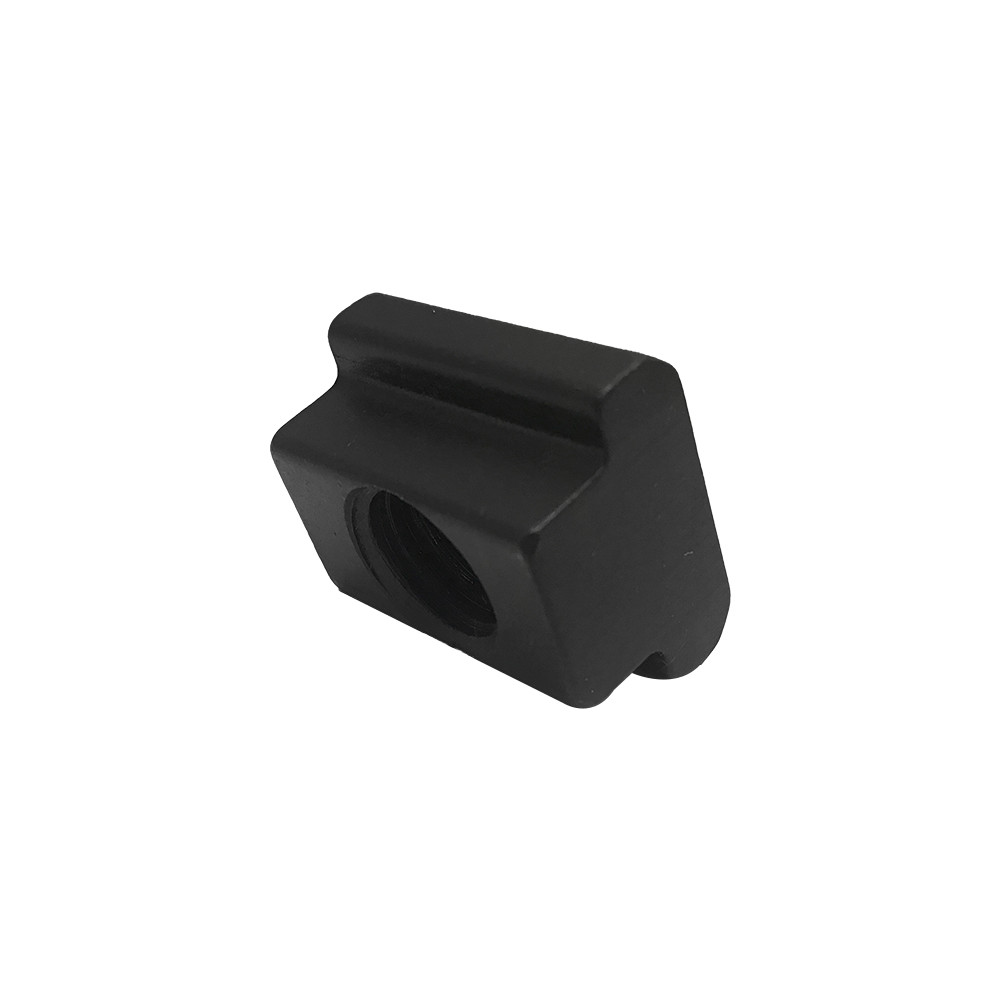 2 Pc T-Slot Nut Table Slot 13/16''  Tapped Through Black Oxide