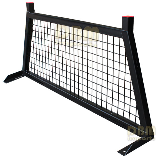 Universal Pickup Truck Rear Window Protector Cage Headache Rack Cab Guard