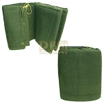 CANVAS 20x30 Tarp Tarpaulin Cover 16-oz Mildew Rot Water Resistant - OD Green