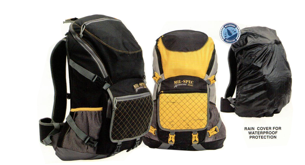Tactical Mil-Spec Plus Civilian GOLD BLACK Backpack Travel Outdoor Military Hiking Camping Bag 28 Liter