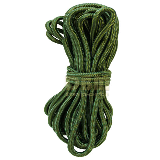 3/8'' x 50 Ft. Utility Rope 1350 lbs Tensile Strength Tie Down Rope Strap-GREEN