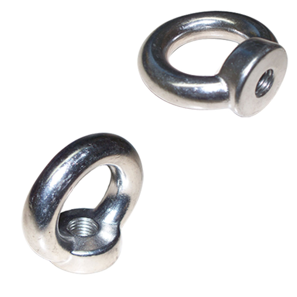 Din 582 Eye Nut Stainless Steel 316 Metric Thread 16 mm 1400 LBS WLL