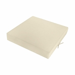 Chair Pads Chair Cushions Knife Edge Ottoman Cushion Chair Seat 23 x 23 x 5 In/Outdoor Polyester