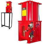 10 Ton Air Hydraulic Oil Filter Can Crusher w/ Stand