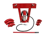 Heavy Duty 12 Ton Air Hydraulic Pipe Tube Bender 6 Dies Bending Metal Fabrication