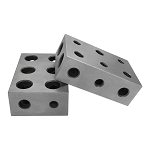 11 Holes Milling Drilling  Precision Metal Block 1 Pair Of  Universal 1-2-3 Blocks