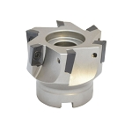 90 Degree Indexable Face Mill Cutter 2-1/2'' x 3/4'' 6 Flute APMT APKT CNC Insert lathe Tool Bit