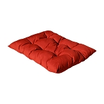 Replacement Cushion for Egg Shape Wicker Swing Chair Soft Pillow - RED