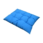 Square Indoor / Outdoor Blue Soft Replacement Swing Chair Cushion Pillow Pad Seat Cover for Egg Wicker Swing Chair