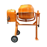 Cement Mixer 3-1/2 Cubic Ft Portable Stucco Mortar Concrete Steel Construction