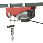 510W Electric Wire Rope Cable Hoist Lift Pulley 220 lb / 440lb