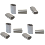 10 Pc Marine Stainless Steel Wire Rope Cable Clip Chamfer 5/32