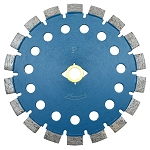 7 inch x .250 inch Blue Boulette Tuck Point Blade Cutting Concrete DM-7/8