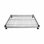 7''L x 12''W Metal Chrome Plated Wire Shelf Shelfing Rack Tier Layer Shelf Display Fixture