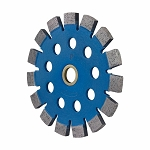 7/8''-5/8'' Arbor 4-1/2'' Premium Blue Boulette Tuck Point Blade Concrete Mortar Joint Removal