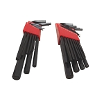 22 PC SAE Metric Size Hex Key Wrench Set L-Key Long Arm 1/20-3/8