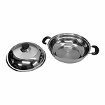 15-1/2''L 11'' Pot Chafing Dish Pot Cookware Mirror Finish See Through Lid Pots and Pan