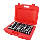 84 Pc M6 .833-0.916'' Steel Plug Pin Gage Set MINUS Pin Gauges Metal Gage Gauges