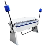 80 Inch Pan Finger Brake Box Bender Bending 12 Gauge Bending Capacity 3