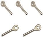 5 PC Swage Eye Terminal End for 3/16
