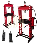 30 Ton Air Hydraulic / Manual Floor Shop Press