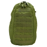 Ambidextrous Solo Sling Backpack Pack Concealed Bag Molle Sling Bag - OD GREEN